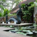 Naga sculpture with history