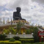 giant monk statue