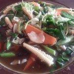 Mixed vegg + rice
