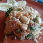Seafood Fried Rice..