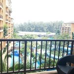 water theme park view from room