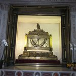Chains said to have been on Saint Peter when he was in prison.