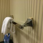 Towel rack falling off wall