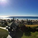 veiw or hotel grounds & beach