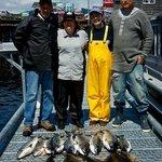 Awesome fishing at Swiftsure Bank