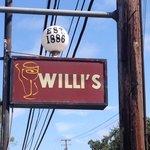 Willi's sign