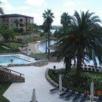 vista piscina externa