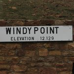 Windy point is a way station almost to the top