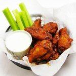 Wings with side of Celery & Blue Cheese