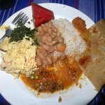 Pamoja Cafe (dinner delivered to Pamoja Guesthouse for our group)