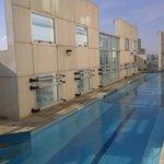 Couloir de nage au 15ème étage