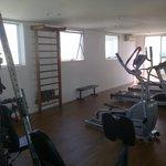 Salle de fitness au 15ème étage