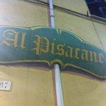 Al Pisacane in Genoa. Big&thin pizza.  No English menu.