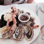 Assiette de fruits de mer
