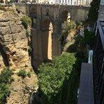 Famous Ponte Nuevo bridge