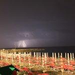 Il temporale.