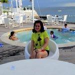 Ibiza beach club jacuzi.