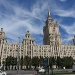 Hotel Ukraina, now the Radisson Royal Hotel Moscow –– one of Stalin's 7 gothic towers