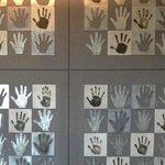 staffs hand marks