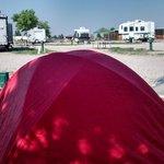 Tent Site Casper WY KOA