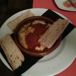 Provolone con Tomate y Sobrasada