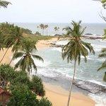 Вид на пляж Евы Ланки