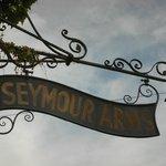 Old inn sign