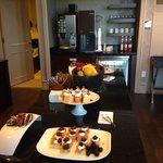 Concierge level evening desserts