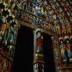 Amiens Cathedral Illuminated