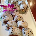 Alaskan King Crab California Roll & Spicy Tuna Roll