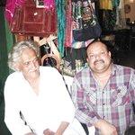 Fazal and a customer