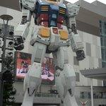 Robot at the Tokyo Bay area