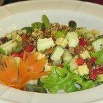 Delicious Magnolia Cafe salad