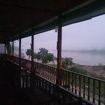 morning mist in chiang khong