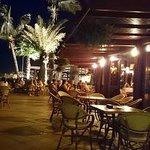 The Pool Bar at night