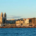 Marseille's view from Ile de Frioul