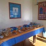 Breakfast buffet (don't miss Gello and Cassatine)