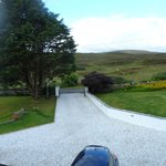 The view from the front of Heatherdale B&B