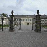 Blick auf das wiedererbaute Herrenhäuser Schloss