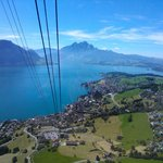 Views from the cable car (Weggis - Rigi Kaltbad)
