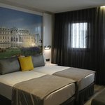 Room with beautiful Vienna Print