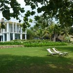 Villa from the garden