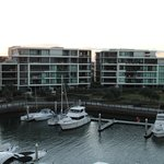 View from apartment towards the Marina