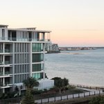 View from apartment towards the Broadwater