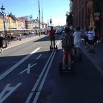 Riding through Nyhavn