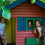 Wendy House for children staying at Broomhill Manor