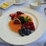 Breakfast fruit platter 2