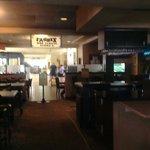 Inside bar zebras great nice,great beer,great hotel.