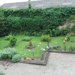 Jardin où sont cultivés les plantes aromatiques utilisées en cuisine
