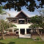Regent Bali terrace and yoga area